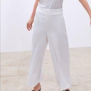 Zara High Waist Culottes